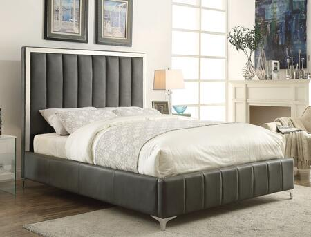 beds for small bedrooms coaster 300637kw jared series california king size panel 14497