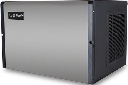 Ice-O-Matic ICE0400 Modular  Cube Ice Machine with  Condensing Unit, Superior Construction, Cuber Evaporator, Harvest Assist and Filter-Free Air in Stainless Steel Finish