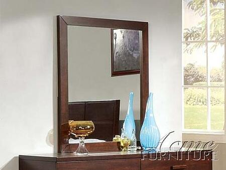 Acme Furniture 11204 Adel Series Rectangular Portrait Dresser Mirror