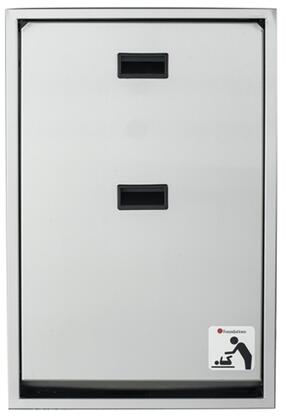 """Foundations Legacy Collection 100SSV-XX 34"""" Changing Station Vertical Mount with Plastic Covered Edges, Full Stainless Steel Frame and Hinges"""