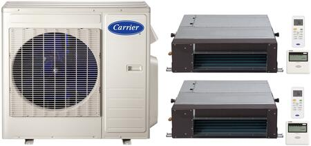 Carrier 700841 Performance Dual-Zone Mini Split Air Conditio
