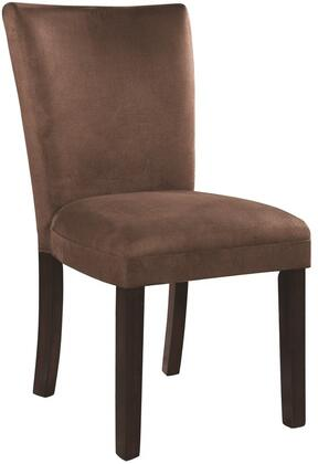 Coaster 101496 Bloomfield Series Casual Fabric Wood Frame Dining Room Chair