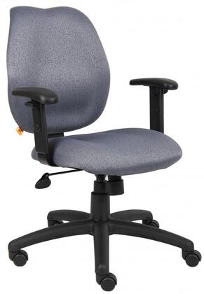 "Boss B1014GY 26"" Adjustable Contemporary Office Chair"