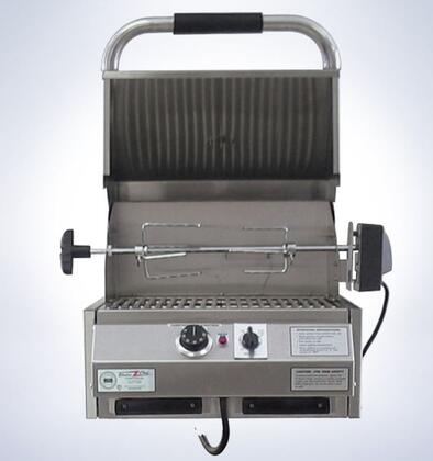 """Electri Chef 4400ec224x16 4400 Series 16"""" Built-In Grill With 18 Gauge Stainless Steel Construction, Digital Controls, Automatic Shut-off, Easy Drip Trays, in Stainless Steel"""