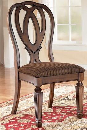 Signature Design By Ashley D52701 Hamlyn Series Traditional Fabric Wood  Frame Dining Room Chair ...