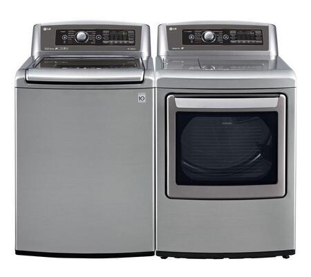LG WT5680HVAPAIR2 TurboWash Washer and Dryer Combos
