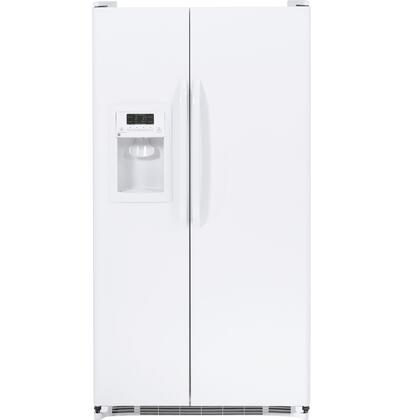 GE GSH25JGDWW Freestanding Side by Side Refrigerator