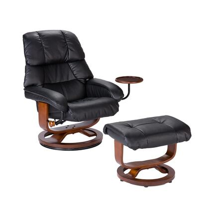 Holly & Martin UP76XXRC Bonded Leather Recliner and Ottoman