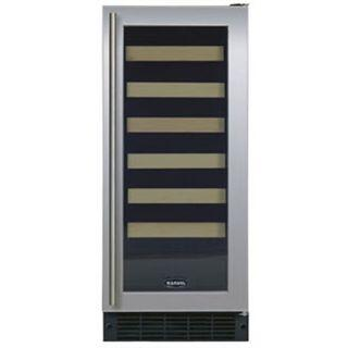 "Marvel 3SWCER 15"" Wine Cellar with 24-Bottle Capacity, 6 Glide-Out Racks, Electronic Controls and Right Hinge Door Opening"