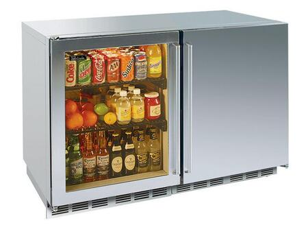 Perlick HP48RWS3L1RDNU Signature Series Counter Depth All Refrigerator with 12.3 cu. ft. Capacity in Stainless Steel