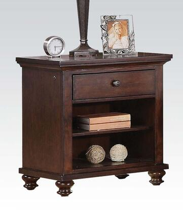 Acme Furniture 21383 Aceline Series Square Veneers Night Stand