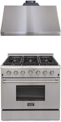 Kucht 722041 Professional Kitchen Appliance Packages