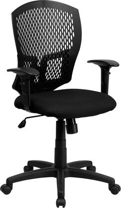 "Flash Furniture WL3958SYGBKAGG 25.5"" Contemporary Office Chair"