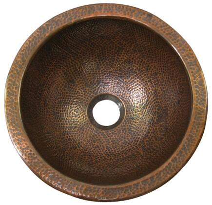 Hammered Antique Copper Regular View