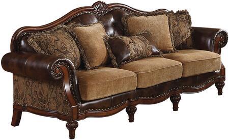 Acme Furniture 05495 Dreena Series Stationary Bonded Leather Sofa