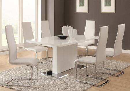 Coaster 102310SETW Modern Dining Dining Room Sets