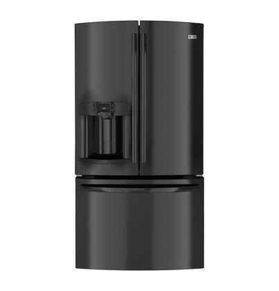 GE PFE27KGDBB Profile Series  French Door Refrigerator with 26.7 cu. ft. Total Capacity 5 Glass Shelves