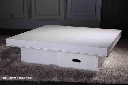 VIG Furniture VGUN8879A_WH White Modern Table