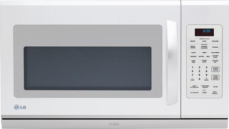 LG LMH2016SW 2 cu. ft. Capacity Over the Range Microwave Oven