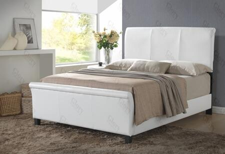 Glory Furniture G2757QBUP G2700 Series  Queen Size Sleigh Bed