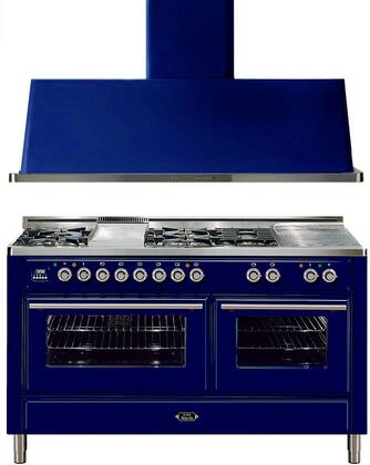 Ilve 721633 Majestic Techno Kitchen Appliance Packages