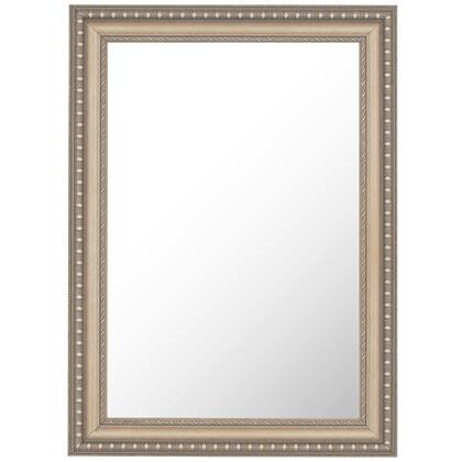Hitchcock Butterfield 68180X Reflections Hungarian Cross Hatch Silver Framed Wall Mirror