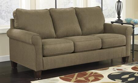 Milo Italia MI-7848BTMP Darryl Full Sleeper Sofa with Rolled Arms, 3 Loose Seat Cushions and Upgraded Mattress in