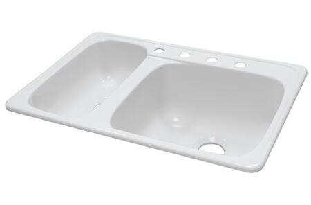 Lyons DKS01HLTB Kitchen Sink