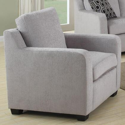 Coaster 504033 Charlotte Series Fabric with Wood Frame in Grey