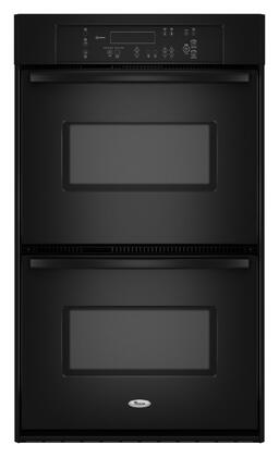 Whirlpool RBD305PVB Double Wall Oven, in Black