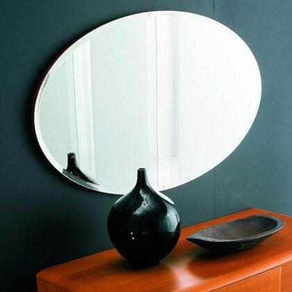 VIG Furniture VGSMTRENDYMR Trendy Series Oval Wall Mirror