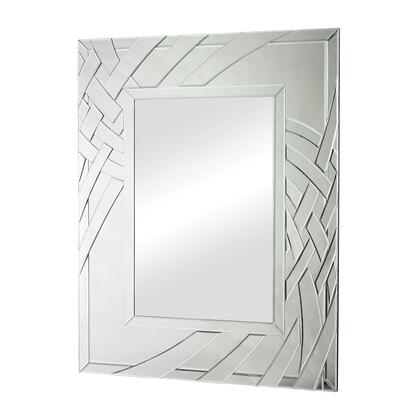 Sterling 11463 Arched Ribbons Series Rectangle Portrait Wall Mirror