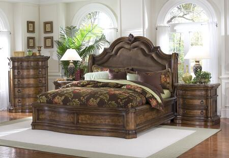 Pulaski 66218013BC2N San Mateo California King Bedroom Sets