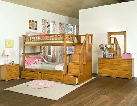 Atlantic Furniture AB55627  Bunk Bed