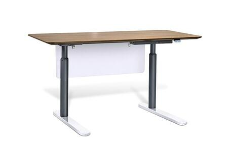 Unique Furniture 7301XXX Height Adjustable Sit Stand Desk 63""