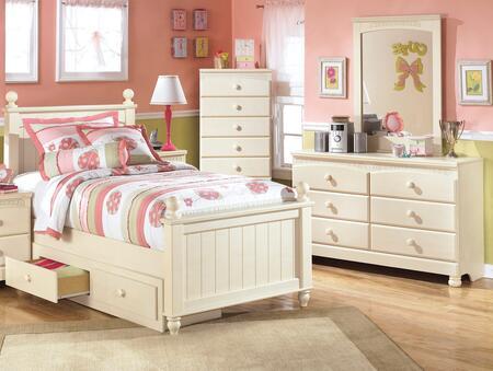 Milo Italia BR303TPSBUSDMC Burton Twin Bedroom Sets