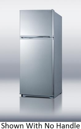 Summit FF882SLVSSHV  Refrigerator with 8.86 cu. ft. Capacity in Stainless Steel