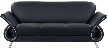 Global Furniture USA U559LVBLS Trevis Series  Sofa