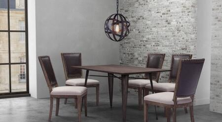 Zuo 109127KIT1 Titus Dining Room Sets
