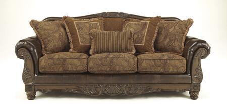 Milo Italia MI5142SF3PCKITBRN Zackery Living Room Sets
