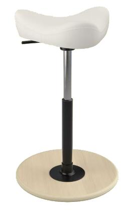 """Varier MOVE SMALL 2700 FAME 26"""" - 34"""" Sit-Stand Chair with Fame Upholstery,"""