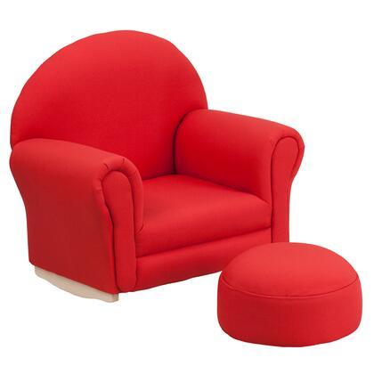 Flash Furniture SF03OTTOREDGG  Accent Chair
