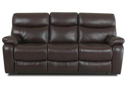 Klaussner KEYRS Key Series Reclining Leather Sofa