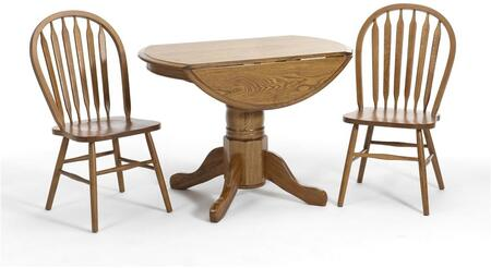 Intercon Furniture COTAL42247DCNTC Classic Oak Dining Room S