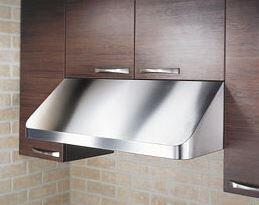 Kobe CH-191SQB-1 Under Cabinet Range Hood, with Sound Reduction, and Easy to Clean, 18 Guage Stainless Steel Construction in Satin Finish