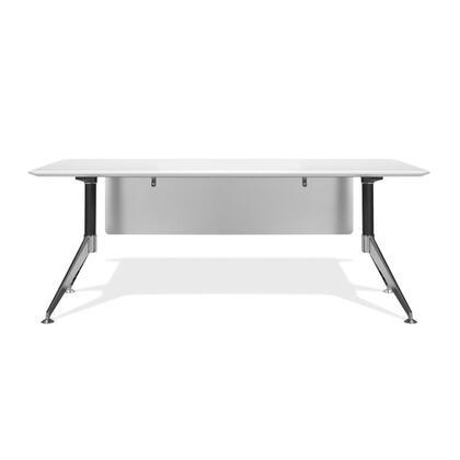 Unique Furniture 402WH Modern Standard Office Desk