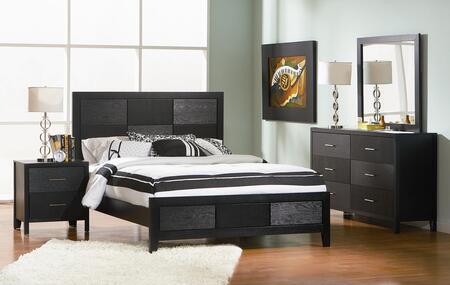 Coaster 4 Piece Cal. King Size Bedroom Set