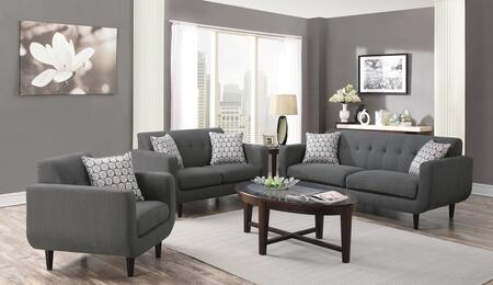 Coaster 505201SLC Stansall Living Room Sets