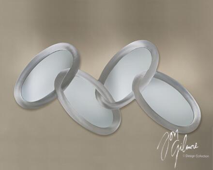 Nova WMA3668 Connected Ovals Series  Wall Mirror