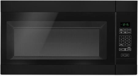 "Amana AMV2307PF 30"" Over the Range Microwave offers 1.6 cu. ft. Capacity, 300 CFM Ventilation, 2 Speed Fan, 12 Inch Turntable, Auto Defrost and Cooktop Surface Light, in"